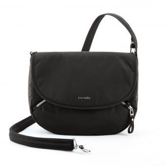 pacsafe Stylesafe Umhängetasche mit RFID-Schutz Black