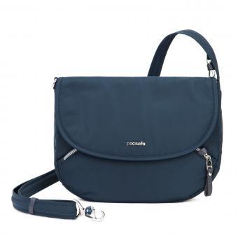 pacsafe Stylesafe Umhängetasche mit RFID-Schutz Navy Blue