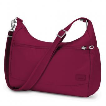 pacsafe Citysafe CS200 Anti-Diebstahl Handtasche Cranberry