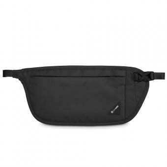 pacsafe Coversafe V100 RFID-blockierende Taillen-Geldtasche Black