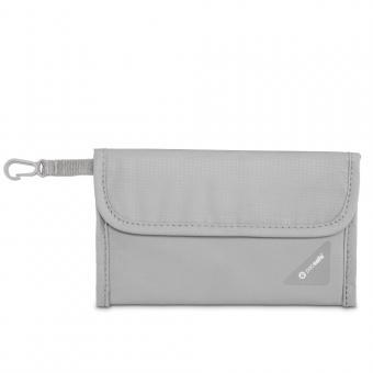 pacsafe Coversafe V50 RFID-blockierende Reisepass-Schutzhülle Neutral Grey
