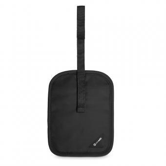 pacsafe Coversafe V60 RFID-blockierende geheime Gürtel-Geldtasche Black