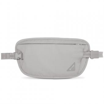 pacsafe Coversafe X100 RFID-blockierende Taillen-Geldtasche Neutral Grey