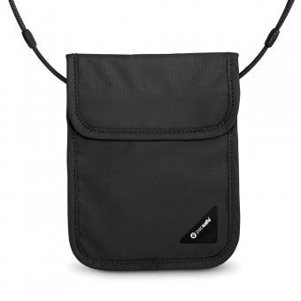 pacsafe Coversafe X75 RFID-blockierender Sicherheits-Brustbeutel Black