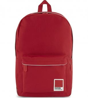 Pantone Universe Large Laptop Backpack Tango Red