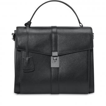 Picard Fan Damentasche aus Leder 9017 Schwarz