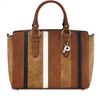 Picard Strip Shopper 2238 cognac