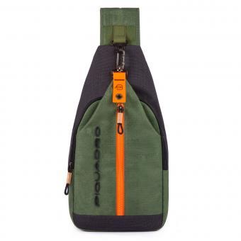 Piquadro Blade Crossovertasche grün