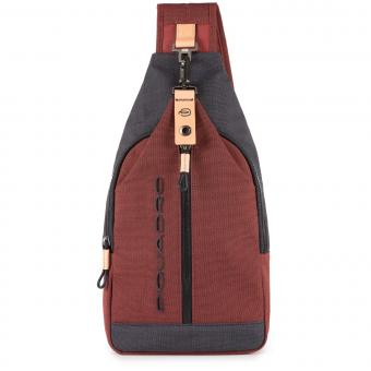 Piquadro Blade Crossovertasche rot