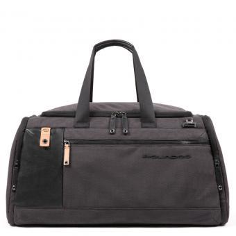 Piquadro Blade Reisetasche mit Trolley-Schlaufe schwarz