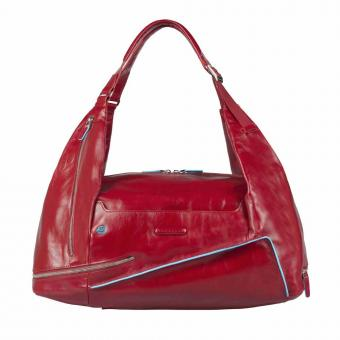 Piquadro Blue Square Tasche Rucksack Portabilität Rot