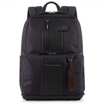 """Piquadro Brief Laptoprucksack 14"""" mit CONNEQU-Tasche blau"""