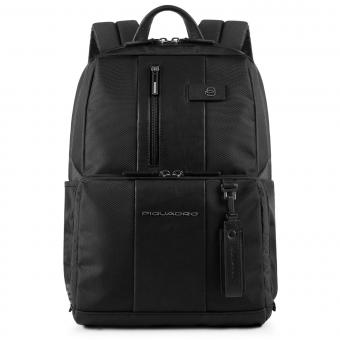 """Piquadro Brief Laptoprucksack 14"""" mit CONNEQU-Tasche schwarz"""