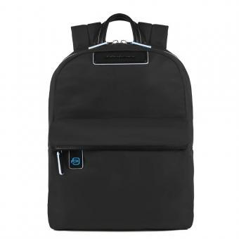 """Piquadro Celion Kleiner Laptop-Rucksack 11"""" mit Tabletfach schwarz"""