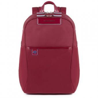 Piquadro Celion Rucksack mit herausnehmbarer PC-, iPad®Pro/iPad®mini-Hülle mit Orga-Fächern rot