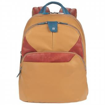 Piquadro Coleos Laptoprucksack saffron yellow
