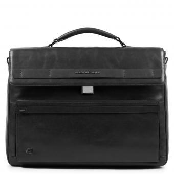 Piquadro Cube Laptoptasche mit iPad®10,5''/14 Zoll-Fach schwarz