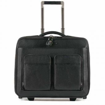 "Piquadro Modus Business-Trolley mit Laptopfach 15.6"" schwarz"