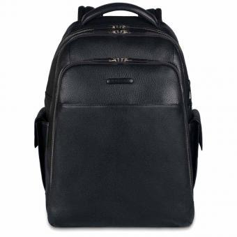 """Piquadro Modus Rucksack mit Laptopfach 15"""" schwarz"""