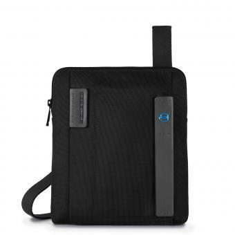 Piquadro P16 Umhängetasche mit iPad Air/Air2-Fach schwarz