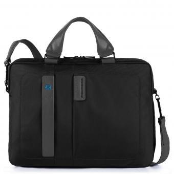 """Piquadro P16 Umhängetasche mit iPad mini- und iPad®10,5''/9,7""""-Fächern schwarz"""