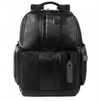 Piquadro Urban Laptop- und iPad-Rucksack mit Diebstahlsicherung