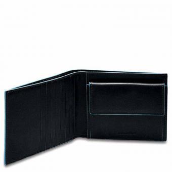 Piquadro Blue Square Herrenbrieftasche + RFID Schwarz