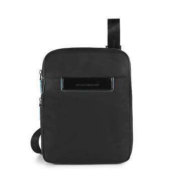 Piquadro Celion Erweiterbare Umhängetasche mit iPad®mini -Fach schwarz