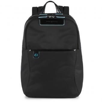 Piquadro Celion Rucksack mit herausnehmbarer PC-, iPad®Pro/iPad®mini-Hülle mit Orga-Fächern schwarz