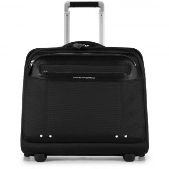 Piquadro Link Laptop-Trolley mit iPad®Air/Air2-Fach schwarz