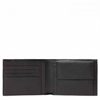 Piquadro Modus Herrengeldbörse mit Münzfach und Kleingeldfach