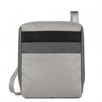 Piquadro Orinoco Organisierte Umhängetasche mit iPad®Air/Pro 9,7-Fach grey