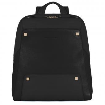 """Piquadro Uhura Laptop-Rucksack 12"""" schwarz"""