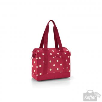Reisenthel Travelling allrounder plus ruby dots