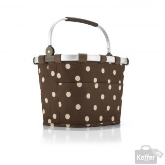 Reisenthel Shopping bikebasket plus mocha dots