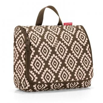 Reisenthel cosmetics toiletbag XL diamonds mocha