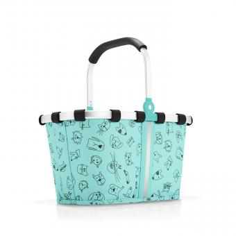 Reisenthel Kids carrybag XS cats and dogs mint