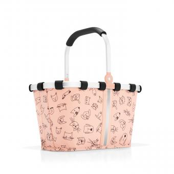 Reisenthel Kids carrybag XS cats and dogs rose