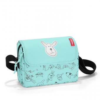 Reisenthel Kids everydaybag cats and dogs mint