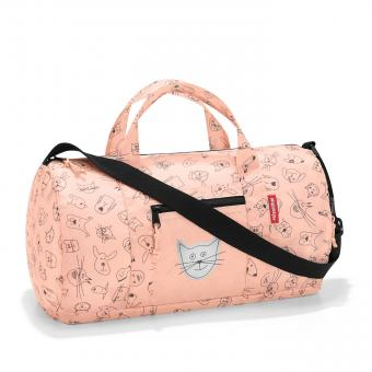 Reisenthel Kids Mini Maxi Dufflebag Reisetasche S cats and dogs rose