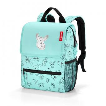 Reisenthel Kids Rucksack Backpack cats and dogs mint