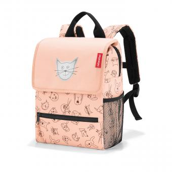 Reisenthel Kids Rucksack Backpack cats and dogs rose