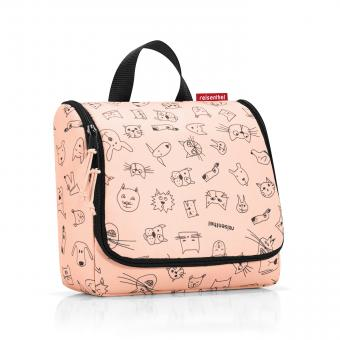Reisenthel Kids toiletbag Kulturbeutel cats and dogs rose