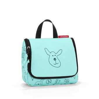Reisenthel Kids toiletbag Kulturbeutel S cats and dogs mint