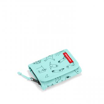 Reisenthel Kids wallet Geldbörse S cats and dogs mint