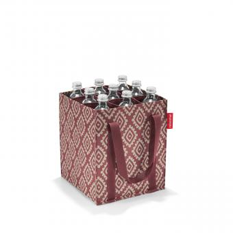 Reisenthel Shopping bottlebag diamonds rouge