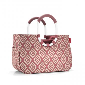 Reisenthel Shopping loopshopper M diamonds rouge