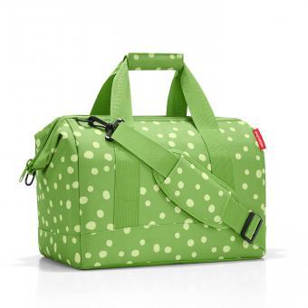 Reisenthel Travelling allrounder M spots green