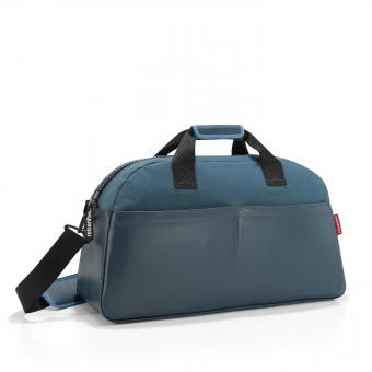 Reisenthel travelling overnighter canvas blue