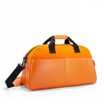 Reisenthel travelling overnighter canvas orange
